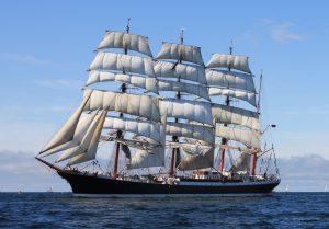 Kuvattu Tall Ships Race kilpailulegin lähtöviivalla Kökarsörenin eteläpuolella.